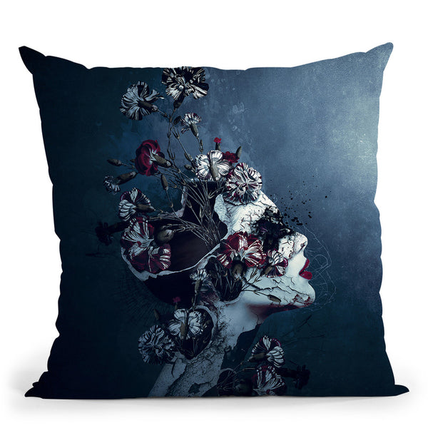 Day To Night Throw Pillow By Riza Peker