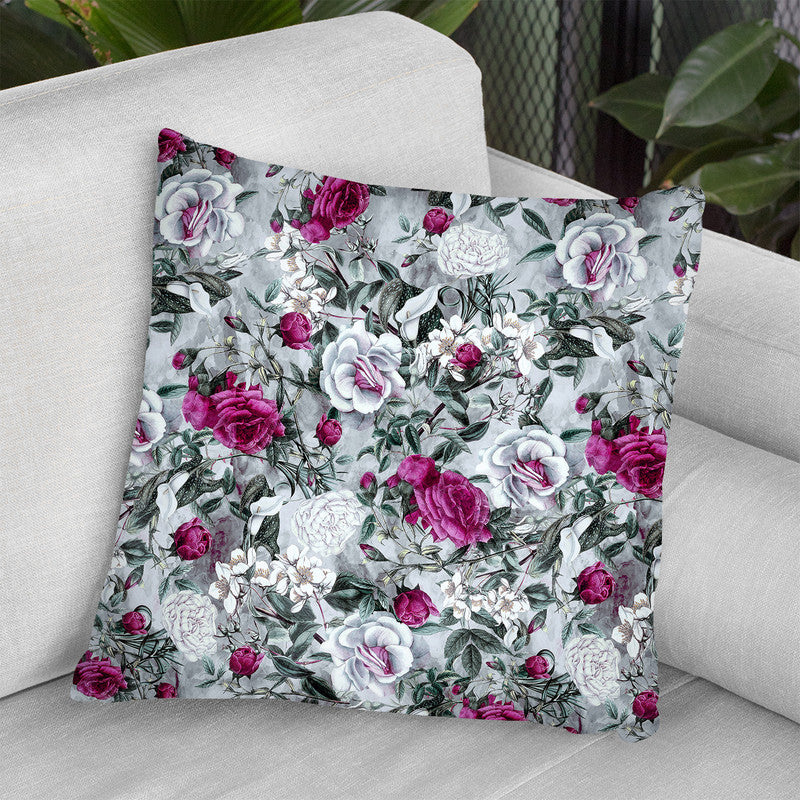 Floral1 Throw Pillow By Riza Peker