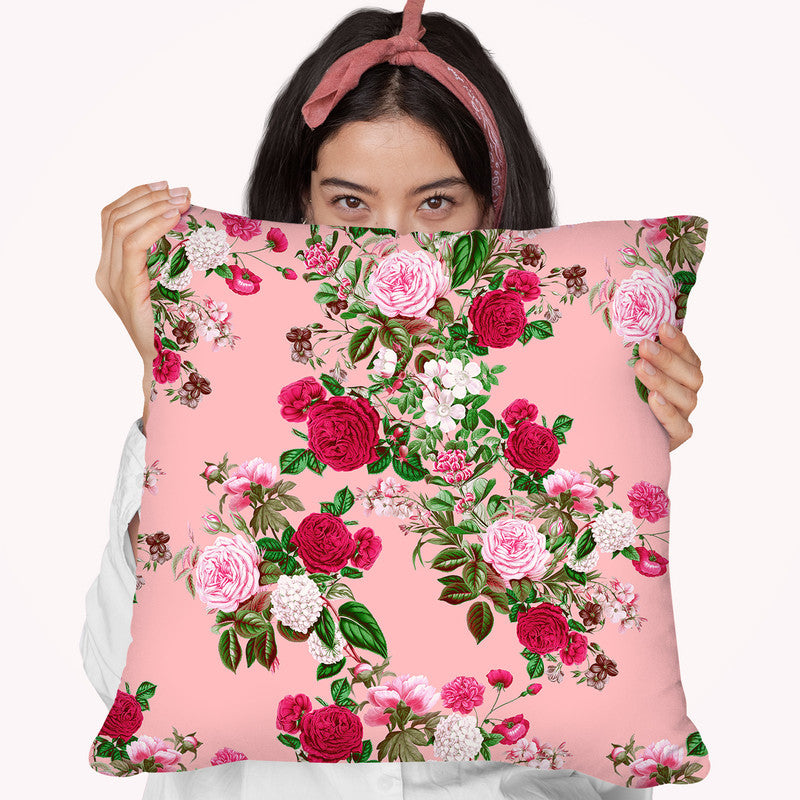 Floral5 Throw Pillow By Riza Peker