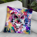 Owl V Throw Pillow By Riza Peker