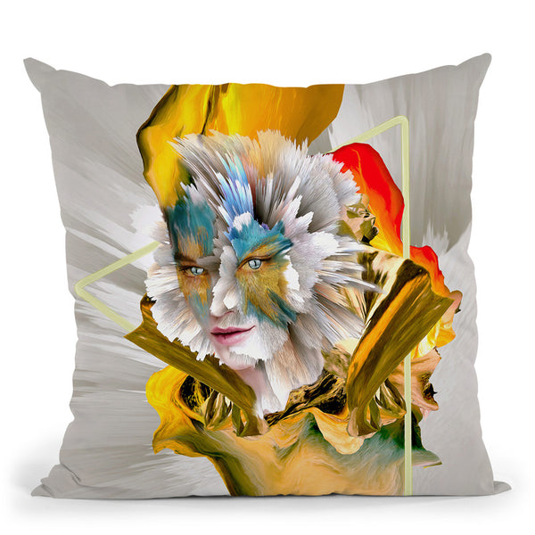 Evolution Throw Pillow By Riza Peker