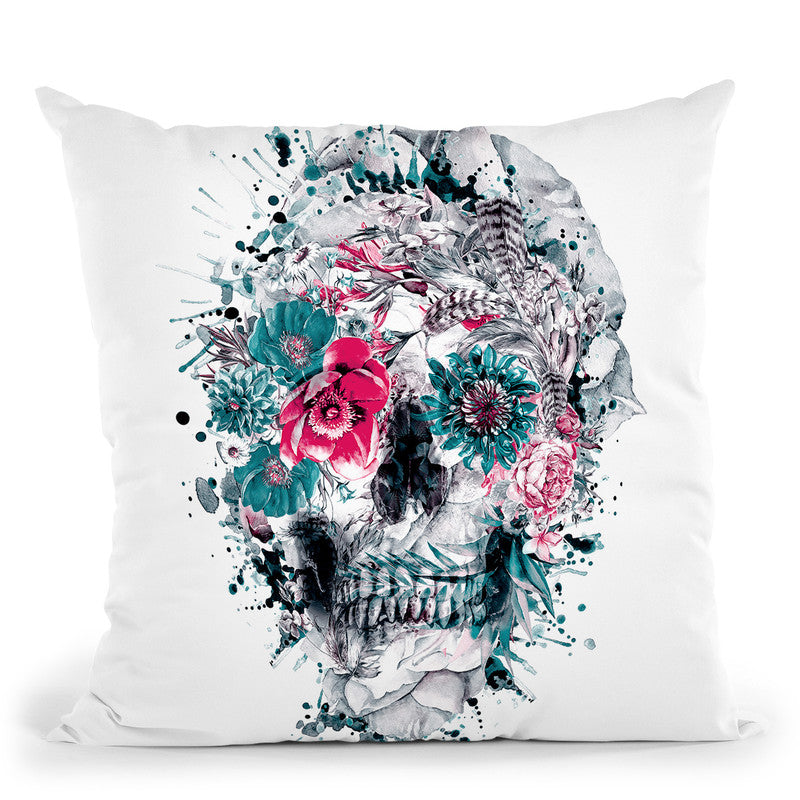 Momento Mori Ix Throw Pillow By Riza Peker