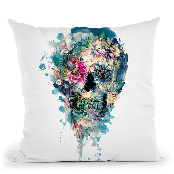 Skull St Iii Throw Pillow By Riza Peker