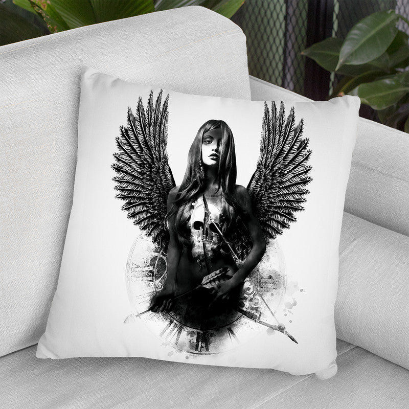 Thehunter Throw Pillow By Riza Peker
