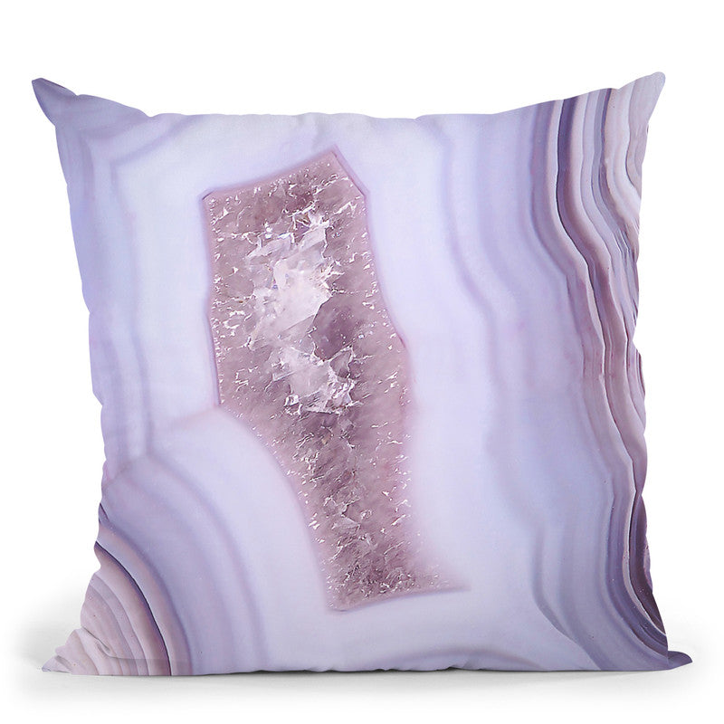 Agate Throw Pillow By Sisi And Seb