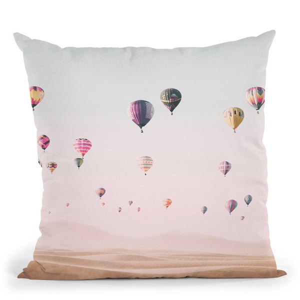 Around The World Throw Pillow By Sisi And Seb