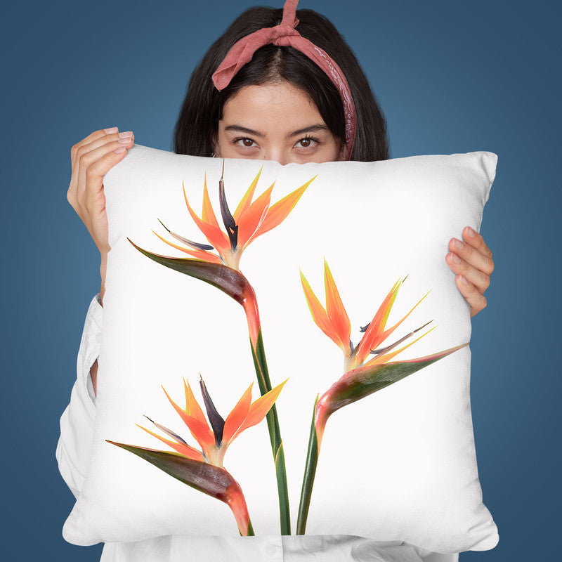 Birds Of Paradise Throw Pillow By Sisi And Seb