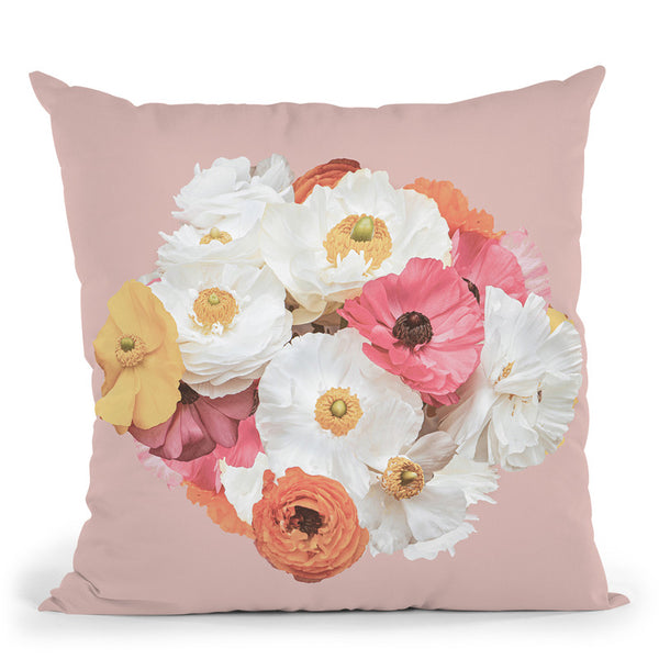 Bouquet Throw Pillow By Sisi And Seb
