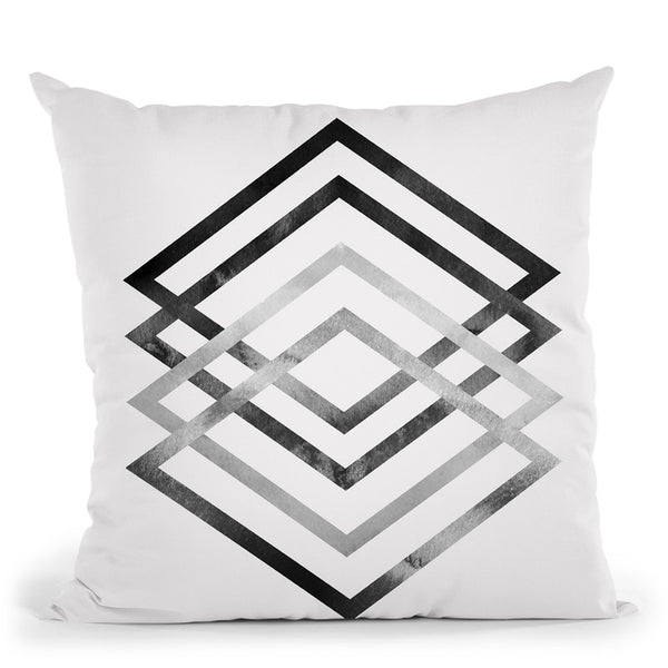 Graphic Shapes Throw Pillow By Sisi And Seb