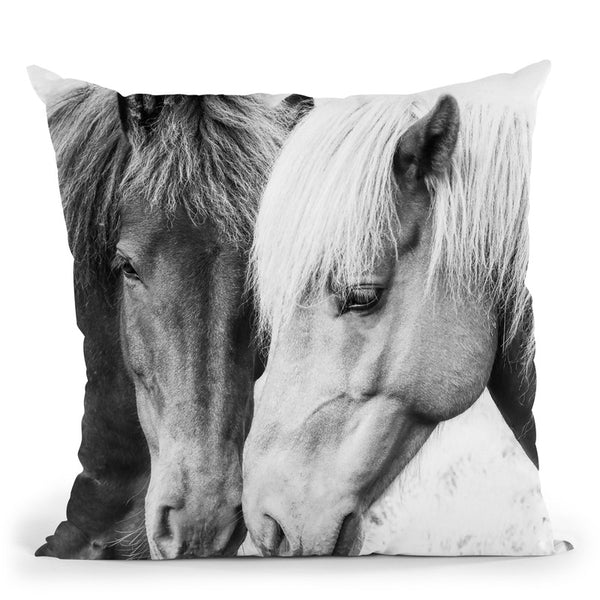 Horse Love Throw Pillow By Sisi And Seb