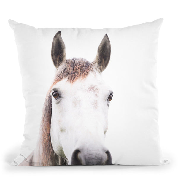 Horse Throw Pillow By Sisi And Seb