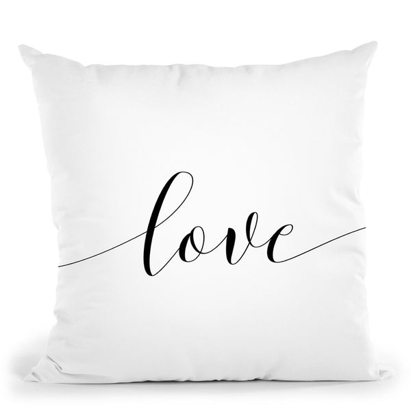 Love Throw Pillow By Sisi And Seb