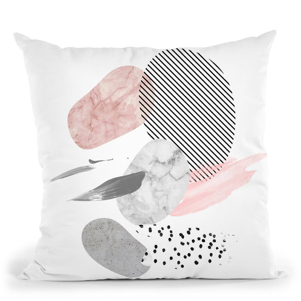 Modern Marblei Throw Pillow By Sisi And Seb