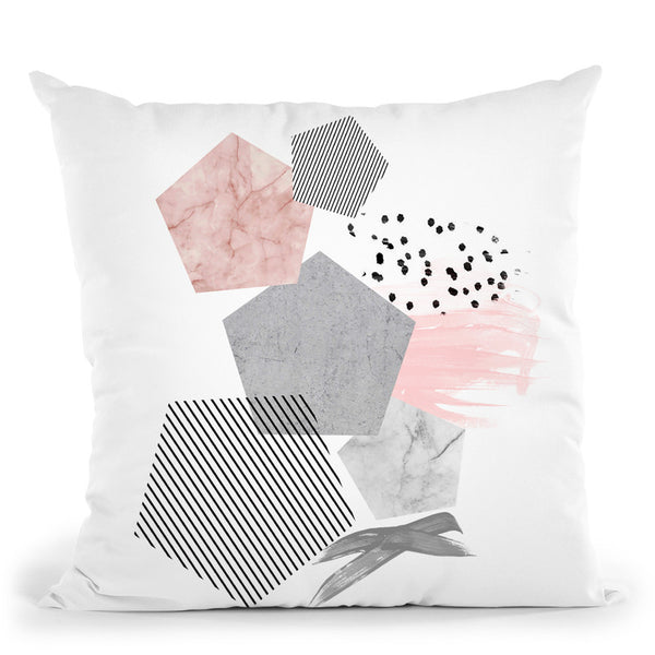 Modern Marbleii Throw Pillow By Sisi And Seb