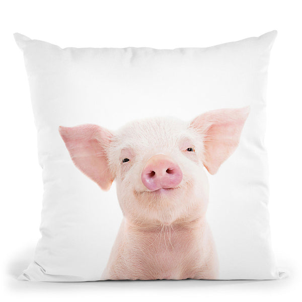 Piglet Throw Pillow By Sisi And Seb