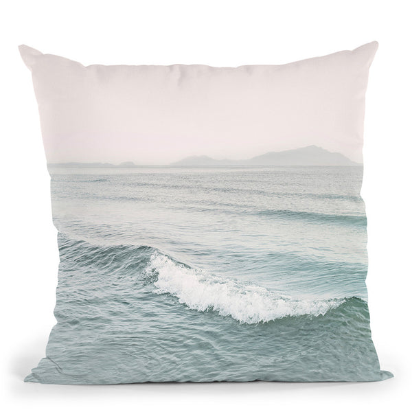 Wave Throw Pillow By Sisi And Seb