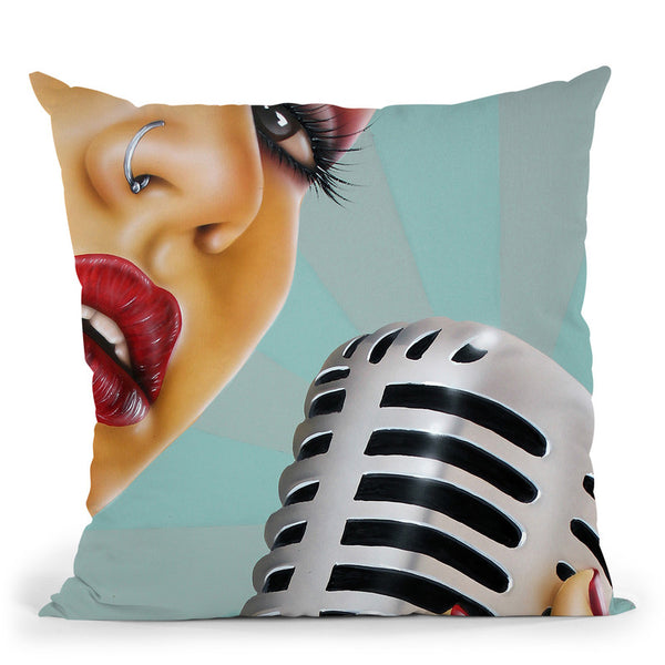 1 Note Throw Pillow By Scott Rohlfs