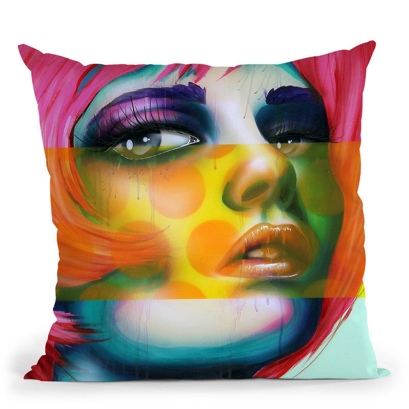 A Beautiful Indifference Throw Pillow By Scott Rohlfs