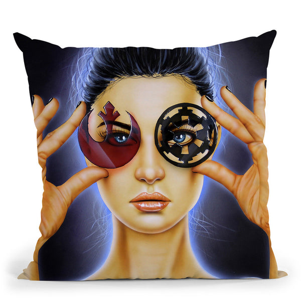 Decisions Decisions Throw Pillow By Scott Rohlfs