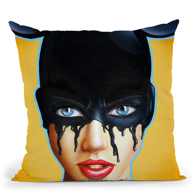 Distorted Dreams Throw Pillow By Scott Rohlfs
