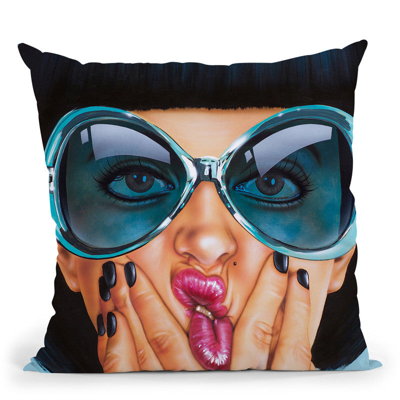 One For The Money Throw Pillow By Scott Rohlfs