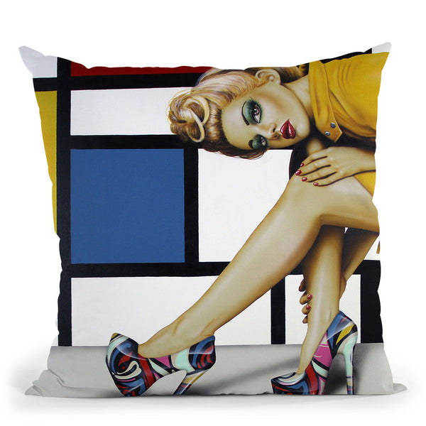 Shoesoes Never Enoughoes Throw Pillow By Scott Rohlfs