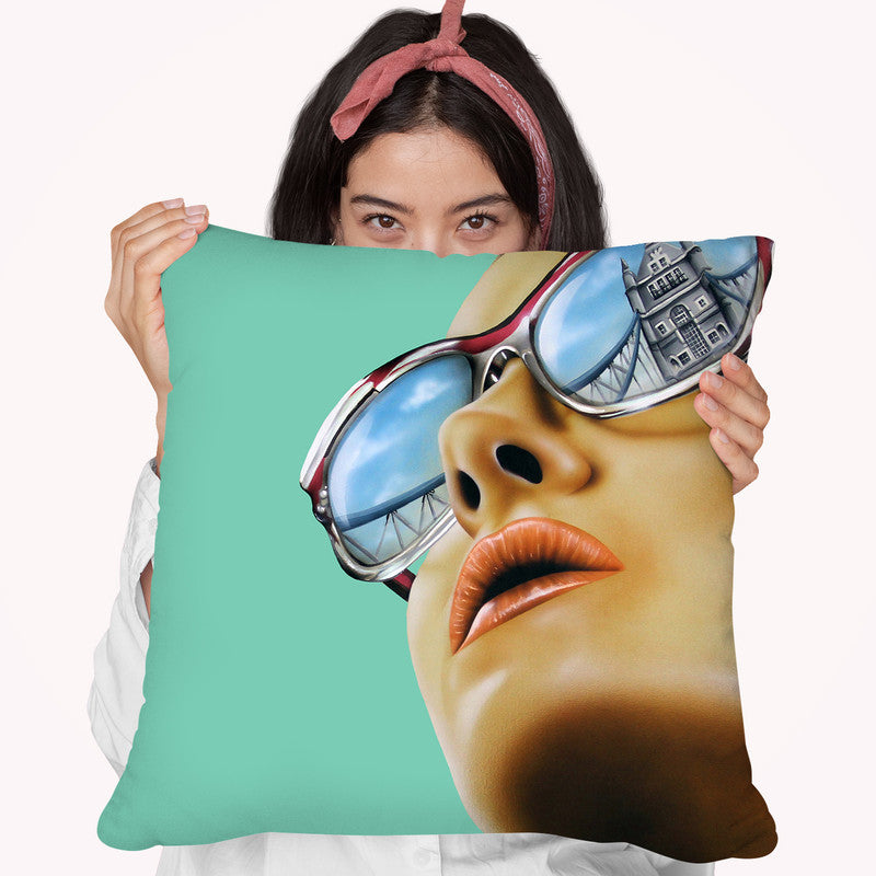 Anywhere But Home Throw Pillow By Scott Rohlfs