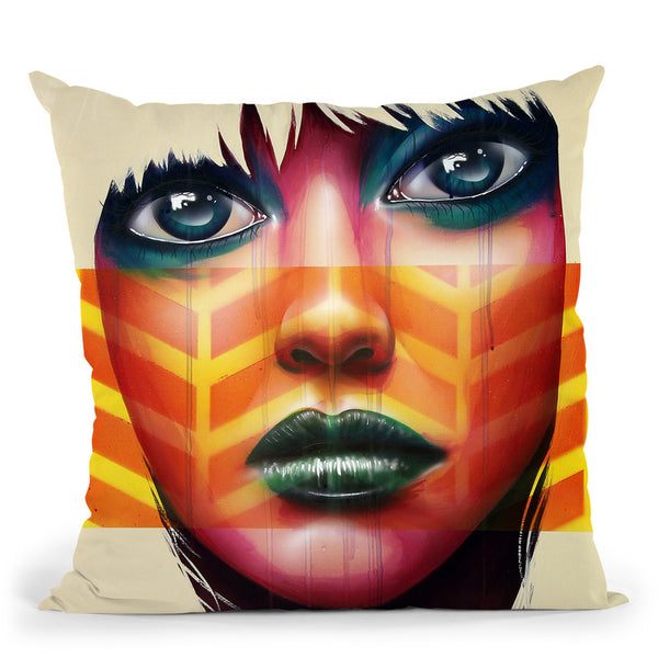 The 6Th Sense Throw Pillow By Scott Rohlfs
