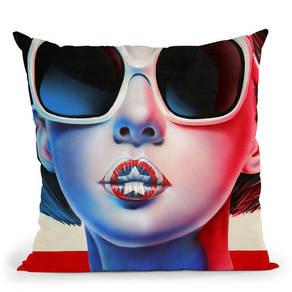 The New National Anthem Throw Pillow By Scott Rohlfs