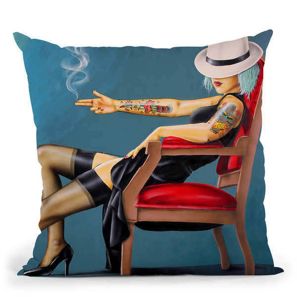 If Legs Could Kill Throw Pillow By Scott Rohlfs