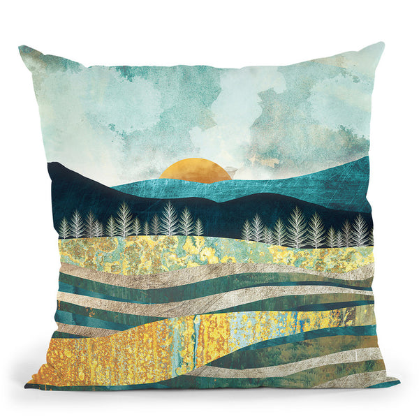 Late Summer Throw Pillow By Spacefrog Designs