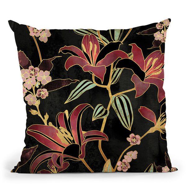 Lily Throw Pillow By Spacefrog Designs