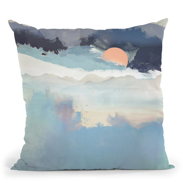 Mountain Dream Throw Pillow By Spacefrog Designs