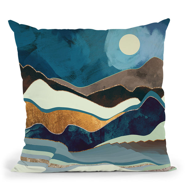 Autumn Hills Throw Pillow By Spacefrog Designs