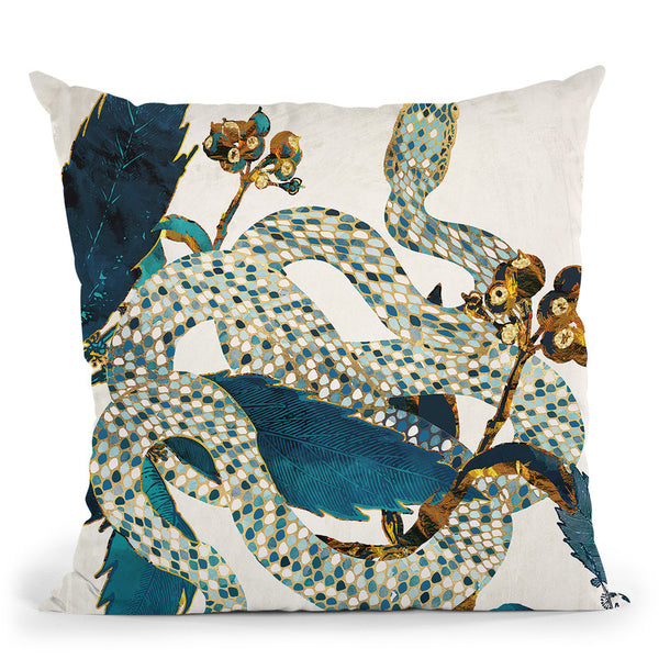 Summer Garden Throw Pillow By Spacefrog Designs