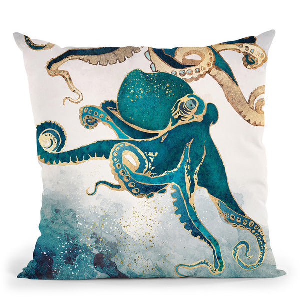 Underwater Dream V Throw Pillow By Spacefrog Designs