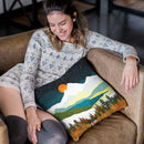 Winters Night Throw Pillow By Spacefrog Designs