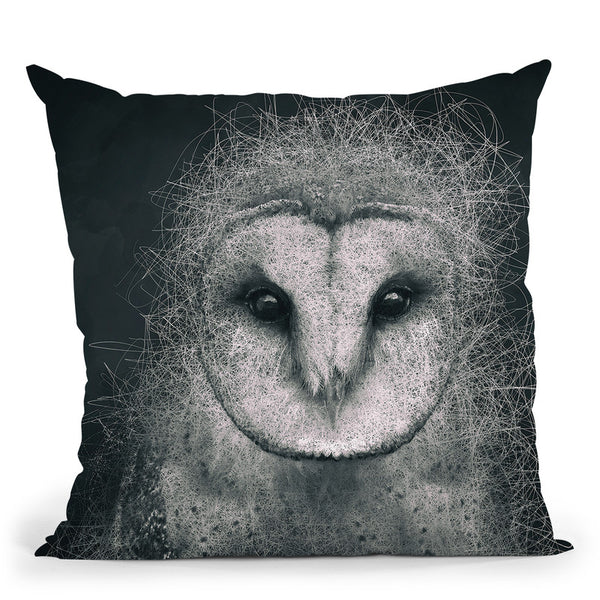Wisdom Throw Pillow By Spacefrog Designs