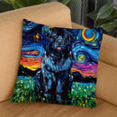 Newfoundland Throw Pillow by Aja Trier