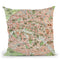 Paris 1920 Throw Pillow By Adam Shaw