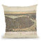 Boston 1899 Throw Pillow By Adam Shaw
