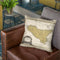 Sicily Italy 1747 Cartog Throw Pillow By Adam Shaw