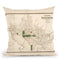 Washington Dc 1876 Throw Pillow By Adam Shaw