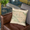 Washington Dc 1892 Throw Pillow By Adam Shaw