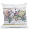 World 1780 Throw Pillow By Adam Shaw