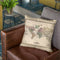 World 1833 Throw Pillow By Adam Shaw