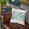 Caribbean 1913 Throw Pillow By Adam Shaw