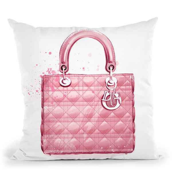 Lady Dior Throw Pillow By Cristina Alonso