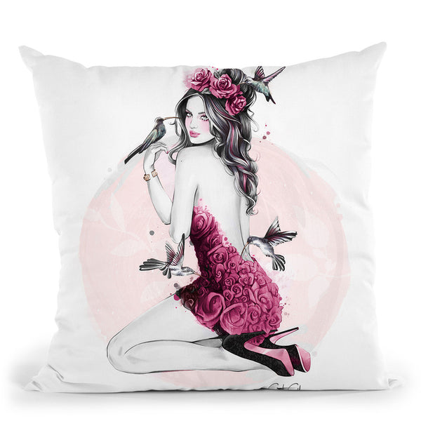 Nectar Throw Pillow By Cristina Alonso