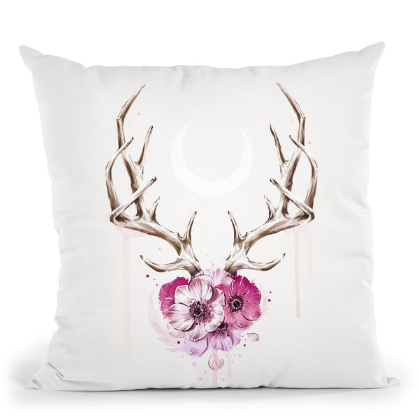 Sauvage Throw Pillow By Cristina Alonso